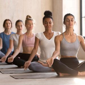 yoga improves oral health